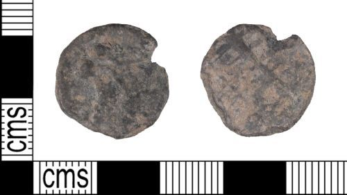 SUSS-B04CE7: Medieval or Post Medieval Lead Alloy Token