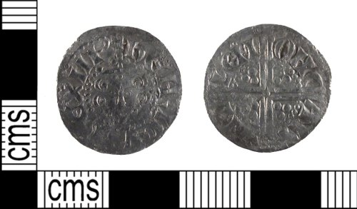 SUSS-528A52: Medieval Coin: Silver Voided Long Cross Penny of Henry III