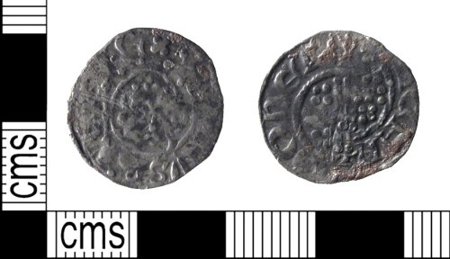 SUSS-5EFA2A: Medieval Coin: short cross penny of Henry III.