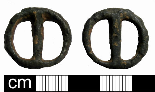 PUBLIC-2AB5D7: Medieval to post-Medieval annular buckle