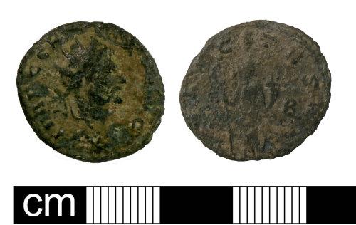 PUBLIC-4DE40A: PUBLIC-4DE40A: Roman radiated Claudius II FELICITAS