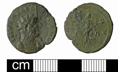 PUBLIC-6FC643: PUBLIC-6FC643: Roman Radiate Allectus PAX AD293-296
