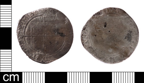 LON-73C6B1: A Post Medieval silver sixpence of Elizabeth I (AD 1558-1603) dating from AD 1582. Initial mark letter A. Mint of London. North (1975:137, No. 2015).
