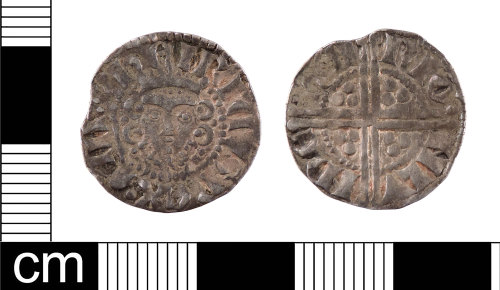 LON-B3C918: A Medieval silver long cross penny of Henry III (AD 1216-1272), minted by Henry Frowick in London, Class 5g, dating to AD 1258-1265. (North 1994: 227, ref: 997).