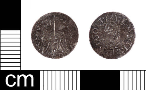 LON-CBC53E: A complete medieval silver Venetian soldino issued by Doge Leonardo Loredan (1436-1521), dating to AD 1501-1521.