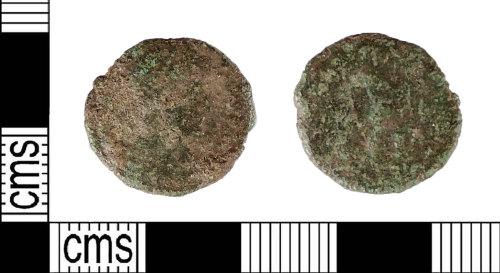 LIN-96205E: Roman coin: nummus of the House of Valentine