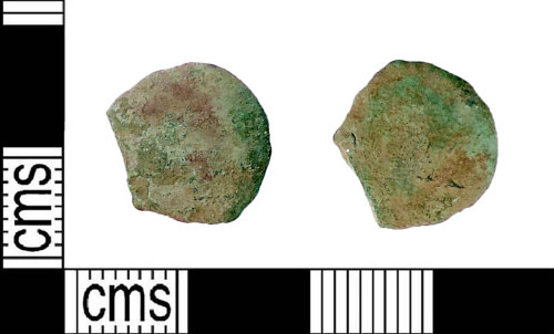 LIN-965113: Roman coin: nummus of a late 3rd to early 5th century emperor