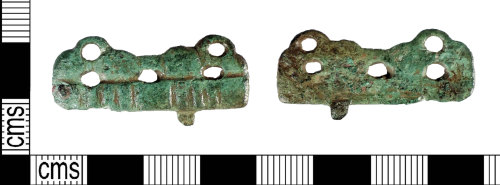 PUBLIC-829157: Early Medieval sleeve clasp