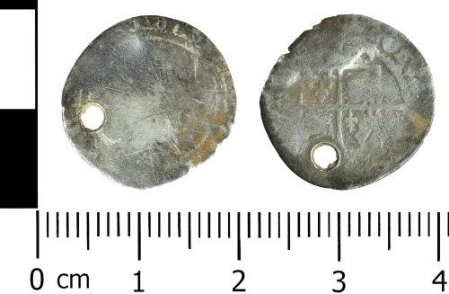 WREX-A64A49: Silver threepence of Elizabeth I (1573)