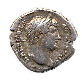 HAMP817: Denarius of Hadrian obverse