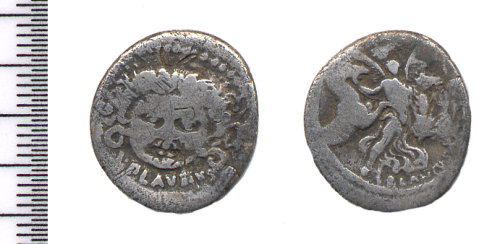 A resized image of Roman republican denarius