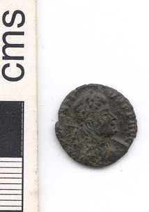 NARC-67EAE3: Roman nummus, obverse