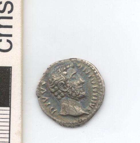 NARC-79A063: Roman denarius of Antoninus Pius, obverse