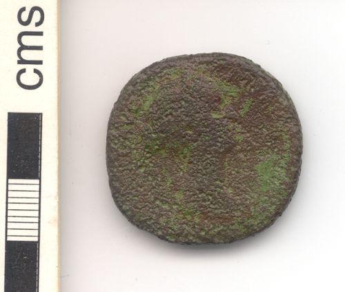 NARC-B570C6: Roman sestertius, obverse