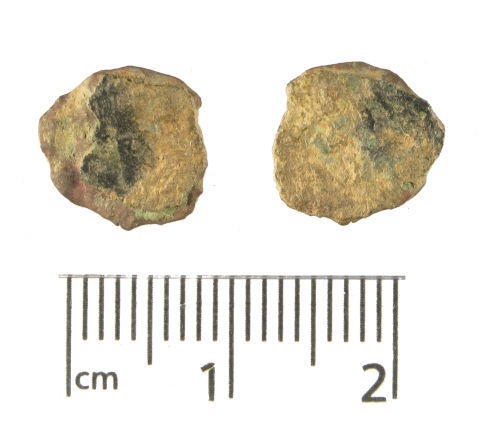 WMID-1F20B0: Roman coin, a copper-alloy nummus of the fourth century