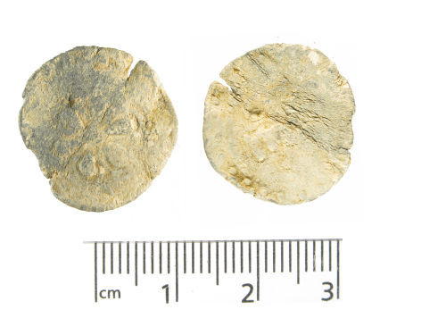 WMID-29CBB0: Medieval to post-medieval lead token