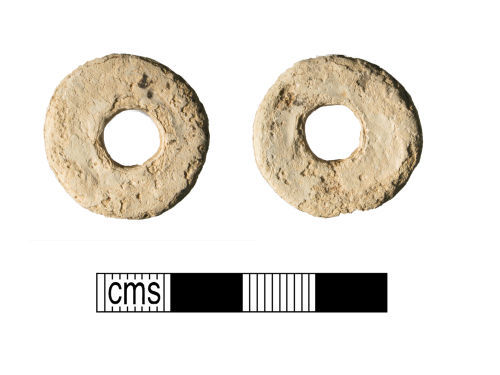 WMID-2D8795: Lead spindle whorl of uncertain date