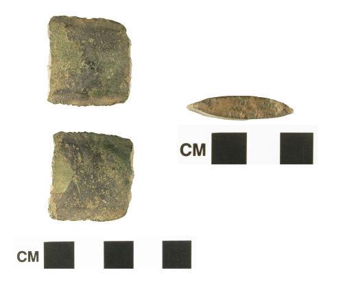 WMID-3A9B02: Bronze Age copper-alloy sword fragment
