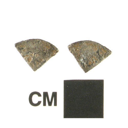 WMID-795A97: Medieval coin, a cut Scottish silver farthing, probably of William I of Scotland