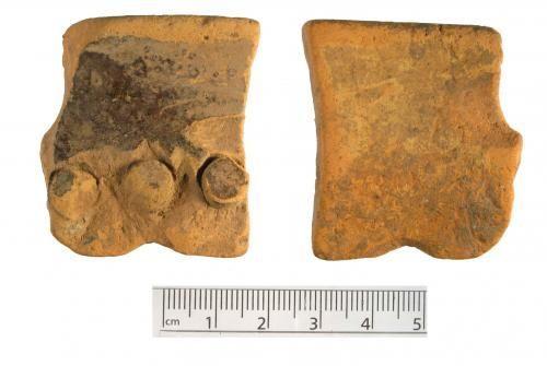 WMID-9426D2: Medieval to post-medieval ceramic vessel sherd