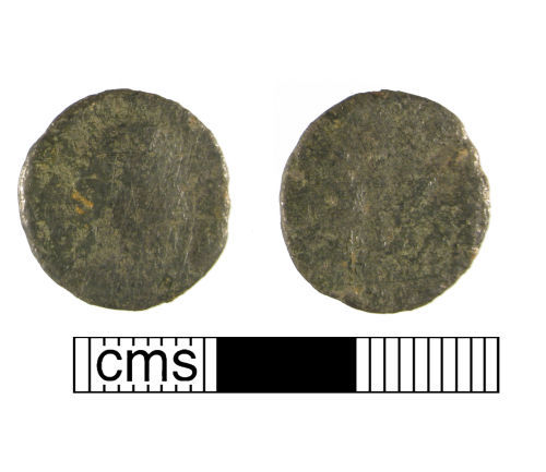 WMID-D74AD0: Roman coin, a copper-alloy nummus of the fourth century