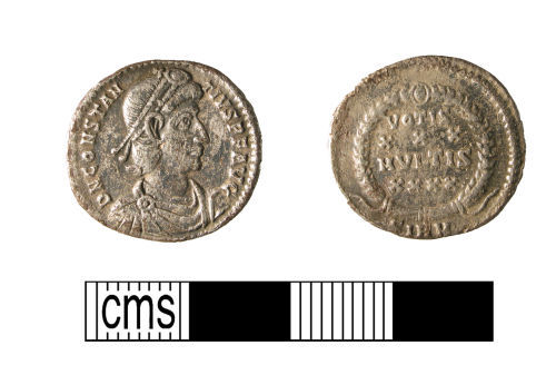 WMID-E59C87: Roman coin, a silver siliqua of Constantius II