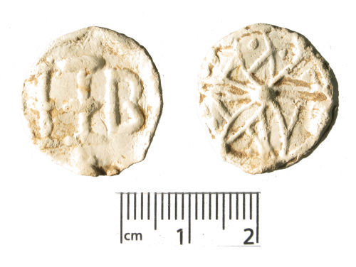 WMID-E8EC31: Medieval to post-medieval lead token