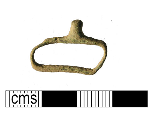 WMID-EC4142: Medieval to post-medieval strap fitting