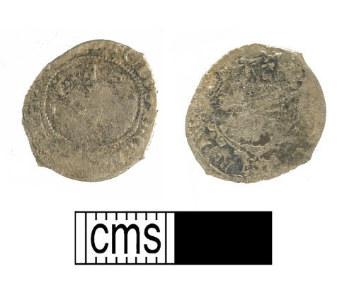 WMID-EE0C67:  Post-medieval silver penny of Charles I