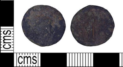 LEIC-D05196: Roman coin: Radiate