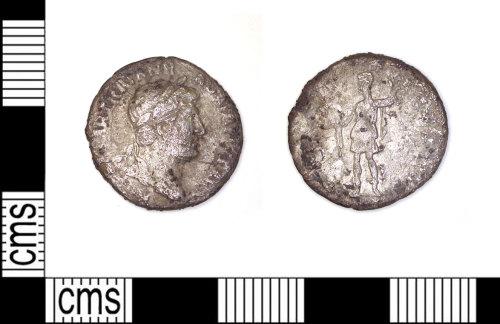 LEIC-528332: Roman Coin: Denarius of Hadrian