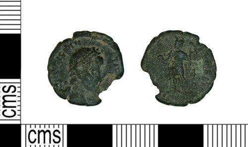 LEIC-AC051A: Roman Coin: Nummus of Constantius II