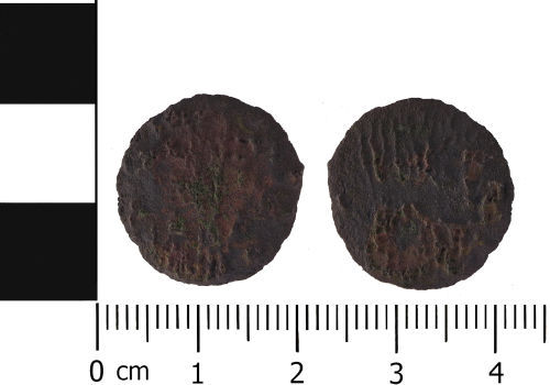 LVPL-04CD12: Roman coin: Probable nummus of Uncertain Emperor