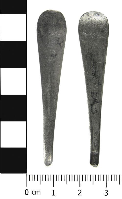 LVPL-1872F4: Post Medieval: Spoon terminal