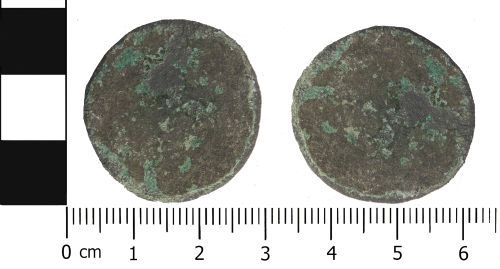 LVPL-4EF762: Post Medieval coin: Probable half penny of George II