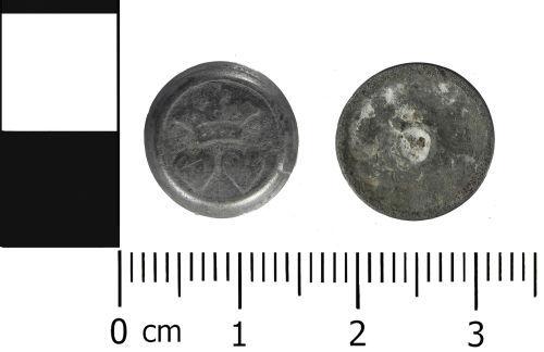 LVPL-A6FFD3: Post Medieval: Cufflink element