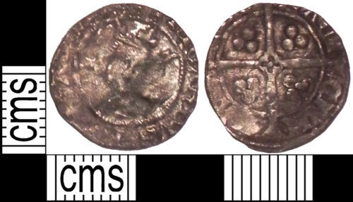 LVPL-F42903: Medieval coin: Penny of Edward I, II or III, York Archiepiscopal mint