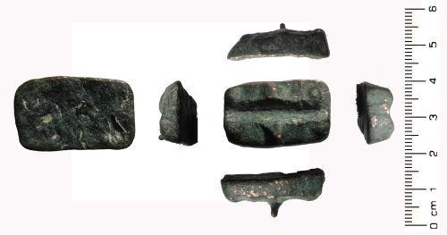 WAW-350E66: Unknown: Unidentified copper ingot