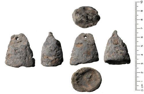 WAW-633B33: Medieval: Pyramidal weight