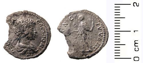 WAW-7831B7: Roman coin: Denarius of Geta