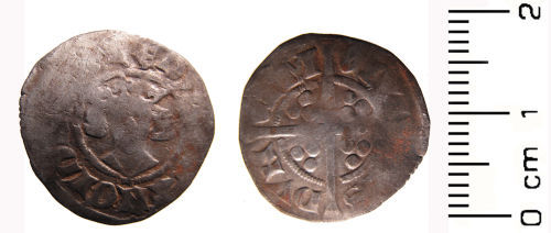 WAW-983F31: Medieval coin: Penny of Edward II, mint Durham