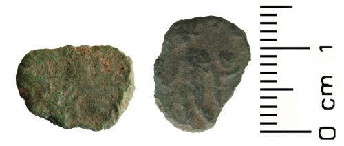 WAW-AAE4C0: Roman coin: Contemporary copy of a radiate (Barbarous Radiate)