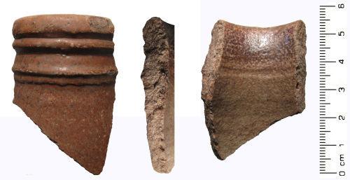WAW-F75D30: Post Medieval: Ceramic vessel