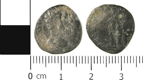 WMID-088216: Roman coin: Denarius of Clodius Albinus