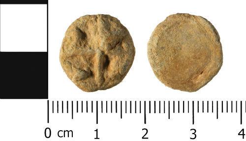 WMID-093301: Post Medieval: Lead token