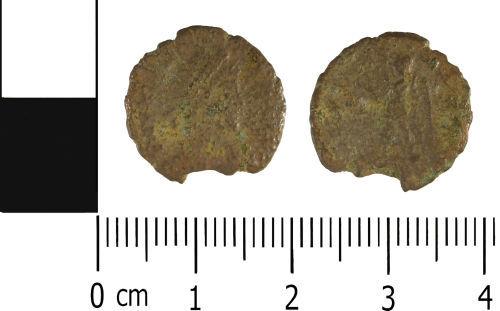 WMID-0C0310: WMID-0C0310: Roman coin: Nummus of House of Valentinian, of uncertain mint