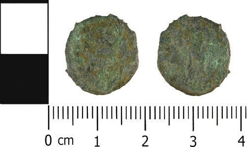 WMID-0C8D87: WMID-0C8D87: Roman Coin: Nummus of uncertain 4th Century Emperor and mint