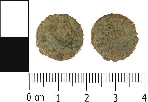 WMID-0D8F75: WMID-0D8F75: Roman coin: Nummus of uncertain 4th Century Emperor and mint