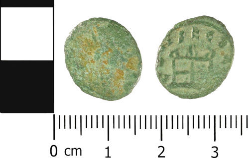 WMID-0E7E82: WMID-0E7E82: Roman coin: Contemporary (barbarous) copy of a Radiate of uncertain Emperor
