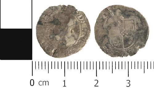 WMID-0F82F5: Post Medieval coin: Halfgroat of Elizabeth I